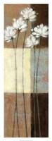 "Raku Blossoms II by Norman Wyatt Jr. - 14"" x 38"""