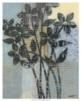 """Quilted Bouquet I by Norman Wyatt Jr. - 17"""" x 21"""""""