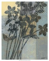 """Quilted Bouquet II by Norman Wyatt Jr. - 17"""" x 21"""""""