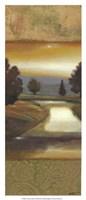 """Sunset Creek II by Norman Wyatt Jr. - 9"""" x 21"""""""
