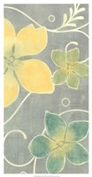 """Tropical Whimsy II by Vision Studio - 14"""" x 26"""""""