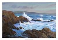 Seascape Faraway II Framed Print