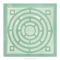Tile Ornamentale II Fine Art Print
