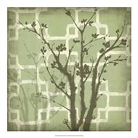 Silhouette & Pattern III Fine Art Print