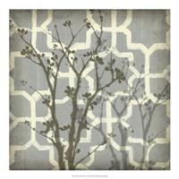 Silhouette & Pattern V Fine Art Print