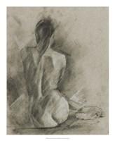 "Charcoal Figure Study I by Ethan Harper - 18"" x 22"""