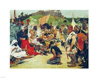 Trade Negotiations in the Country of Eastern Slavs - various sizes