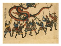 Chinese Dragon Dance Fine Art Print