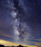 The Milky Way in Serra da Estrela, Portugal Fine Art Print