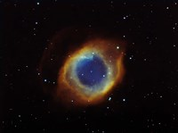 Helix nebula in Aquarius (NGC 7293) Fine Art Print