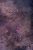 NGC 6231 area oriented equatorially Fine Art Print