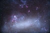 The Tarantula Nebula in the Large Magellanic Cloud Fine Art Print