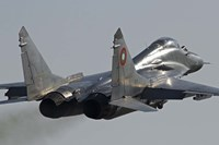 Bulgarian Air Force MiG-29 aircraft Fine Art Print
