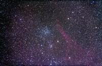 Open cluster Messier 38 in the constellation Auriga Fine Art Print