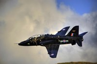 A Hawk T1 trainer aircraft of the Royal Air Force Fine Art Print