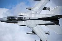 A Royal Air Force Tornado GR4 over North Wales Fine Art Print