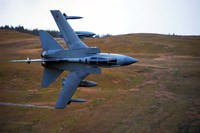 A Royal Air Force Tornado GR4 during low fly training in North Wales by Andrew Chittock - various sizes