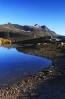 Skittendalen mountain peaks in Troms County, Norway Fine Art Print