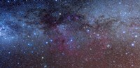 The constellations of Puppis and Vela in the southern Milky Way Fine Art Print