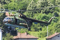 Bulgarian Air Force Mi-17 helicopter, Bulgaria by Anton Balakchiev - various sizes, FulcrumGallery.com brand