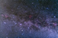 Nebulosity in the constellations Cassiopeia and Cepheus by Alan Dyer - various sizes, FulcrumGallery.com brand