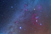 Orion and the Winter Triangle stars by Alan Dyer - various sizes