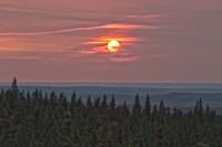 Sunset at Horseshoe Canyon, Cypress Hills Interprovincial Park, Alberta, Canada by Alan Dyer - various sizes