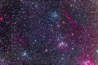 The Pinwheel Cluster and Starfish Cluster in the constellation Auriga by Alan Dyer - various sizes