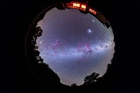 A fish-eye 360 degree image of the entire southern sky by Alan Dyer - various sizes