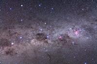 Southern Milky Way with Eta Carinae, Crux and Alpha & Beta Centauri by Alan Dyer - various sizes
