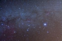 The constellation of Canis Major with nearby deep sky objects by Alan Dyer - various sizes