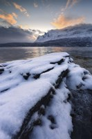 A cold morning in Grovfjorden, Troms County, Norway by Arild Heitmann - various sizes