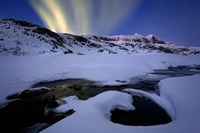 Northern Lights in Skittendalen Valley, Troms County, Norway by Arild Heitmann - various sizes