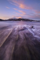 Sunrise over Tjeldsundet in Troms County, Norway by Arild Heitmann - various sizes - $47.49