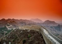 Great Wall of China, Jinshanling, China Fine Art Print