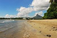 Calm Beach, Tamarin, Mauritius Fine Art Print