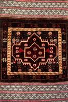 Africa, Tanzania, Zanzibar, Stone Town. Close-up of hand-made carpet. by Alida Latham - various sizes - $39.49