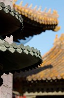 China, Beijing, Forbidden City. Emperors palace, Hall of Consolation. by Cindy Miller Hopkins - various sizes - $42.99