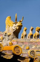 Dragon roof, Hall of Consolation, Forbidden City, Beijing, China by Cindy Miller Hopkins - various sizes
