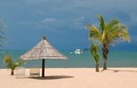 Africa; Malawi; Mangochi; Lake Malawi; Resort Makakola Fine Art Print
