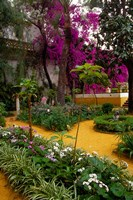 Garden Courtyard, Marrakech, Morocco Fine Art Print