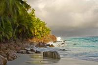 Anse Beach on Fregate Island, Seychelles Fine Art Print