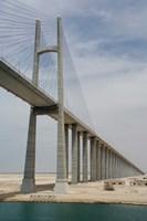 Bridge of Peace, Suez Canal, Egypt by Cindy Miller Hopkins - various sizes