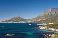 Camps Bay and Clifton area, view of the backside of Lion's Head, Cape Town, South Africa Fine Art Print