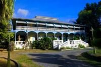 Creole Architecture on Mahe Island, Seychelles Fine Art Print