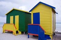 Cottages near the water, Cape Town, South Africa by Alison Wright - various sizes