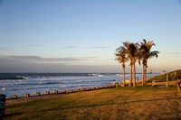 Ansteys Beach, Durban, South Africa Fine Art Print