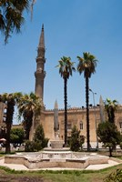 El Hussein Square and Mosque, Cairo, Egypt, North Africa Fine Art Print