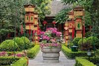 Bai Family Imperial style restaurant, Beijing, China Fine Art Print