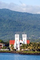Catholic Church, Apia, Upolo Island, Western Samoa Fine Art Print